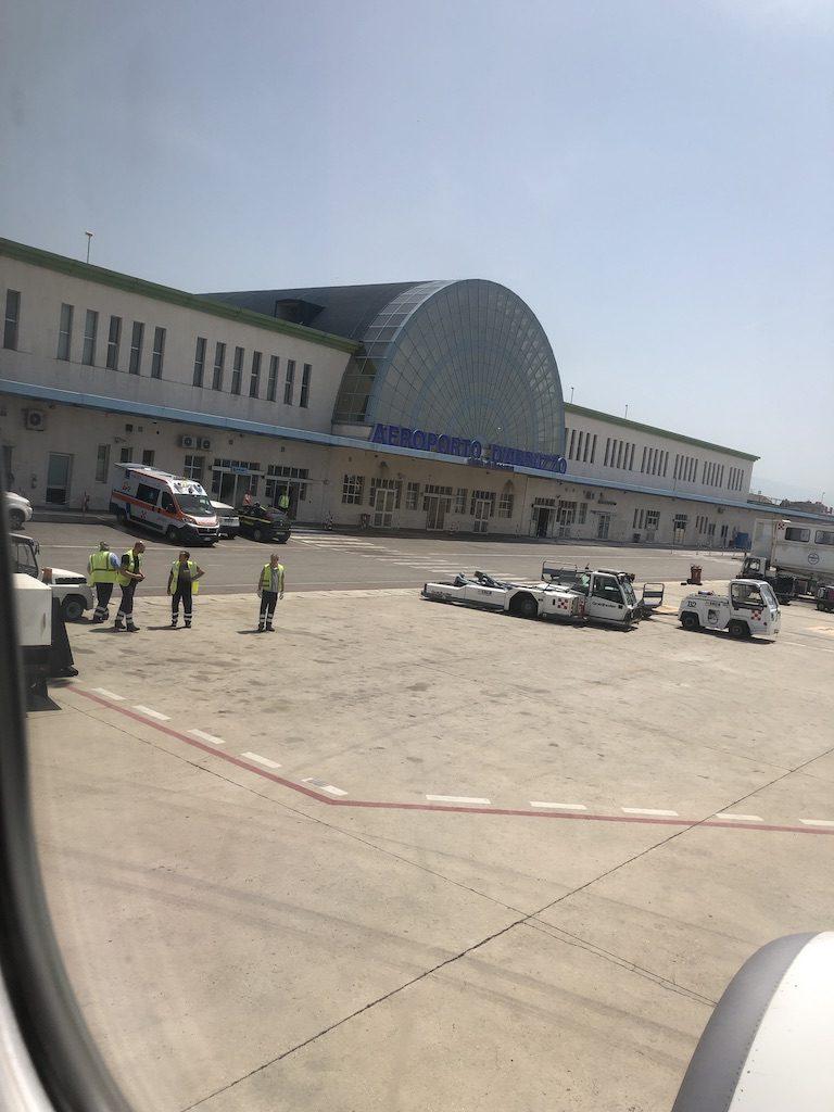 Letištní terminál v Pescaře